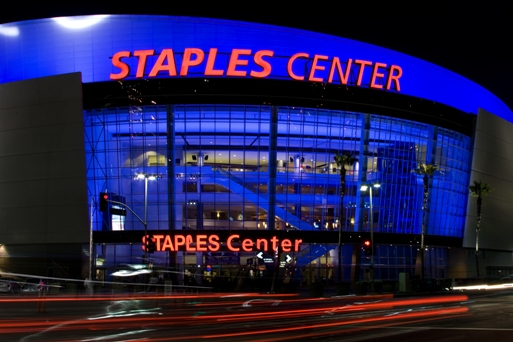 Limousine service to STAPLES Center